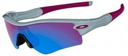 Gafas de sol - Oakley - OO9051 RADAR PATH - 09-757 POLISHED FOG // POSITIVE RED IRIDIUM