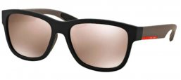 Gafas de Sol - Prada Sport - SPS 03QS - DG01C0 BLACK RUBBER // LIGHT BROWN MIRROR GOLD