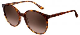 Sunglasses - Special offer - Oxydo - OX 1074/S - 2ME (JD) BROWN HAVANA // BROWN GRADIENT