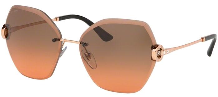 45237ae4d8 Gafas de Sol - Bvlgari - BV6105B - 201418 PINK GOLD // ORANGE GRADIENT LIGHT