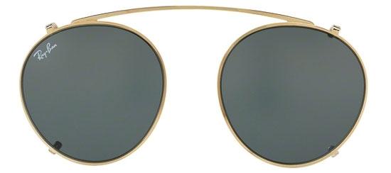 d1a5617efc Frames - Ray-Ban® - RX2447V - 250071 CLIP ON GOLD    GREEN