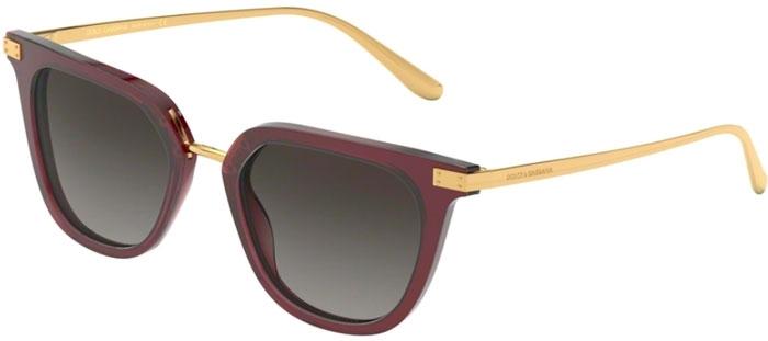 Gafas Gabbana Dg4363 Sol De Trasparent Bordeaux Dolceamp; Gradient 30918g Grey u1JFTKc3l