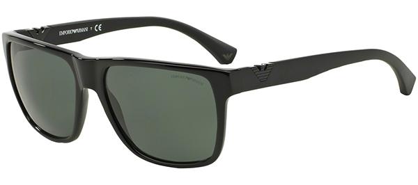 Sunglasses - Emporio Armani - EA4035 - 501771 BLACK    GREY GREEN 9ab62ec2549c