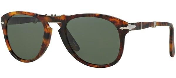 04c16f20c0 Gafas de Sol Persol PO0714 FOLDING 108/58 CAFFE // GREEN POLARIZED
