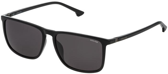 1ec02a0dd9 Gafas de Sol - Police - SPL342 JUNGLE 1 - 0Z42 SHINY BLACK // GREY