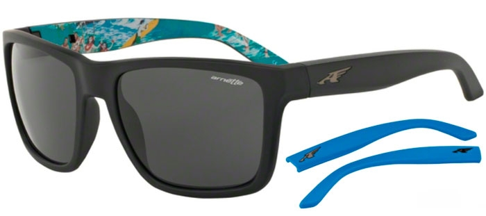 Sunglasses - Arnette - AN4177 WITCH DOCTOR - 222787 FUZZY BLACK    GREY 167820f280