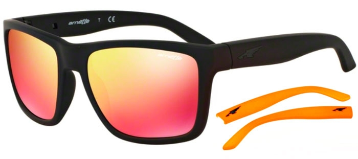 Sunglasses - Arnette - AN4177 WITCH DOCTOR - 447 6Q FUZZY BLACK    RED 7d70482d72