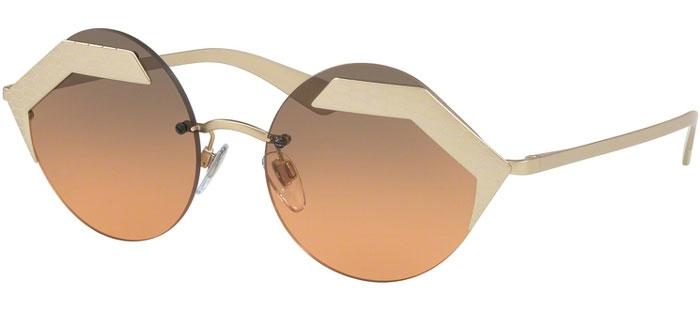 afbfe50173 BV6089 SERPENTEYES - 202218. MATTE PALE GOLD PALE GOLD // ORANGE GRADIENT  LIGHT GREY. Gafas de Sol - Bvlgari ...