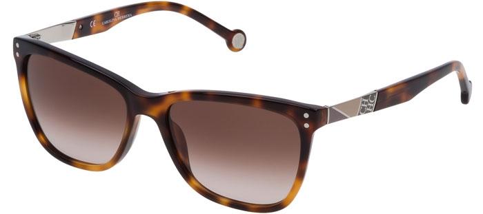 Gradient Shiny Brown De Herrera She749 09aj Carolina Gafas Havana Sol WED29YHI