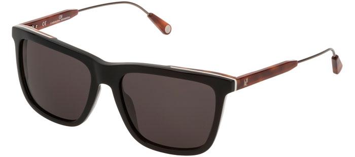 700k Herrera Black Sol She809 Brown De Shiny Carolina Gafas rChQstdBx