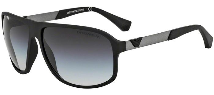 90ea84734f Gafas de Sol - Emporio Armani - EA4029 - 50638G BLACK RUBBER // GREY  GRADIENT