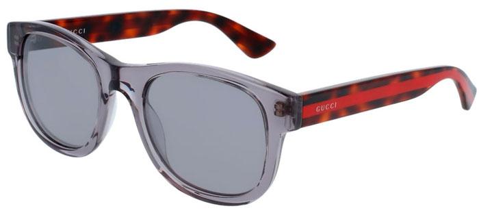 e3d41f1fe8 Gafas de Sol - Gucci - GG0003S - 005 GREY HAVANA // SILVER MIRROR