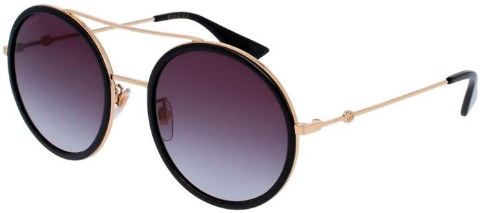 d31f4c2d1 Gafas de Sol - Gucci - GG0061S - 001 BLACK GOLD // GREY GRADIENT