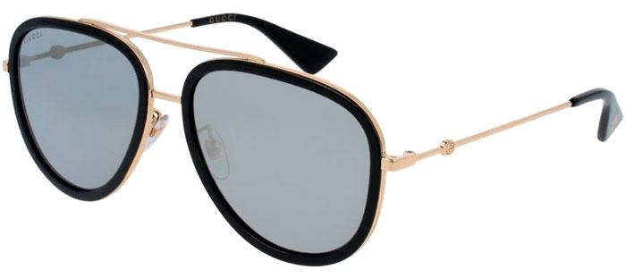 a524dbb8e Gafas de Sol - Gucci - GG0062S - 001 BLACK GOLD // GOLD FLASH