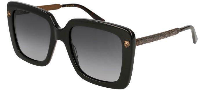 4b98ea24b Gafas de Sol - Gucci - GG0216S - 001 BLACK GOLD // GREY GRADIENT