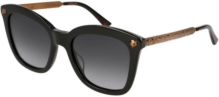 78ce7d120 Gafas de Sol - Gucci - GG0217S - 001 BLACK GOLD // GREY GRADIENT