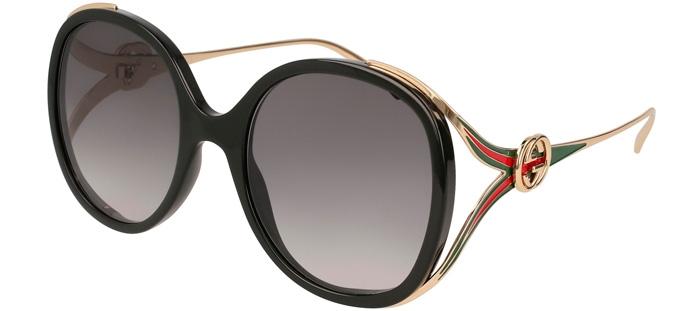 fe54fc7e3 Gafas de Sol - Gucci - GG0226S - 001 BLACK GOLD // GREY GRADIENT
