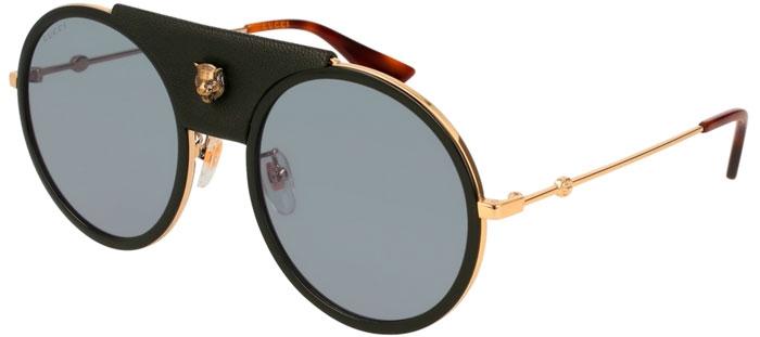 81ebe4b17 Gafas de Sol - Gucci - GG0061S - 016 BLACK GOLD // GREY