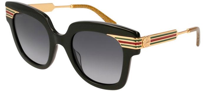 2bc43a380 Gafas de Sol - Gucci - GG0281S - 001 BLACK GOLD // GREY GRADIENT