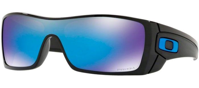 a94f035a3d6ae Sunglasses Oakley BATWOLF OO9101 910158 POLISHED BLACK    PRIZM SAPPHIRE