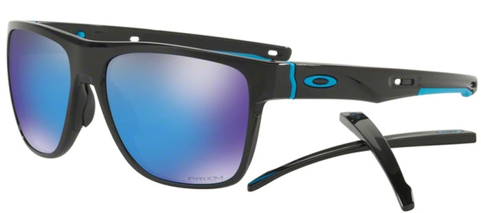 3c568e385bf Sunglasses - Oakley - CROSSRANGE XL OO9360 - 9360-13 POLISHED BLACK    PRIZM