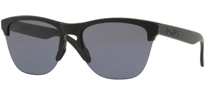 8accbc5aa6b Sunglasses - Oakley - FROGSKINS LITE OO9374 - 9374-01 MATTE BLACK    GREY