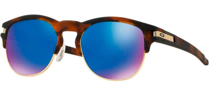 c6307d78a5 LATCH KEY OO9394 - 9394-07. MATTE BROWN TORTOISE    SAPPHIRE IRIDIUM  POLARIZED. Sunglasses - Oakley ...