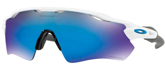 7e06c03620 RADAR EV PATH OO9208 - 9208-73. POLISHED WHITE    PRIZM SAPPHIRE. Sunglasses  - Oakley ...