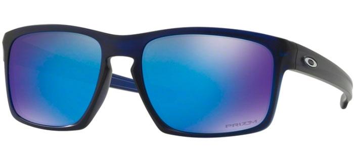 f1b5e8b295f Sunglasses - Oakley - SLIVER OO9262 - 9262-45 MATTE TRANSLUCENT BLUE     PRIZM