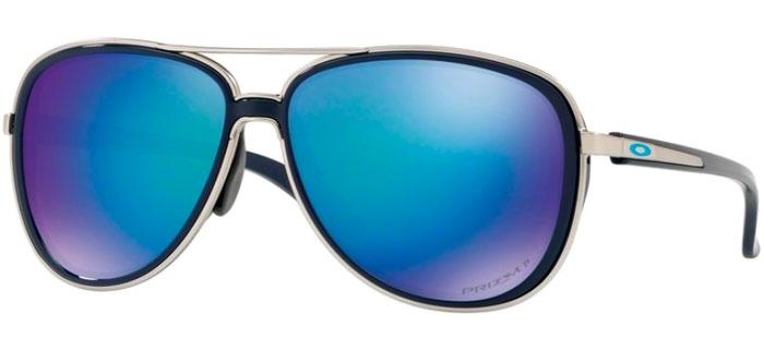 ebb01fc58f Sunglasses - Oakley - SPLIT TIME OO4129 - 4129-07 NAVY    PRIZM SAPPHIRE.  Polarized