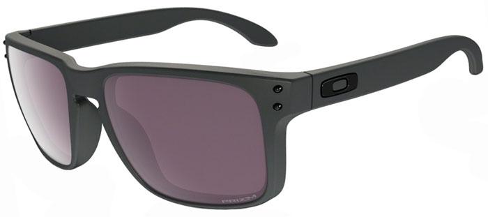 f5918a310b6 Sunglasses - Oakley - HOLBROOK OO9102 - 9102-B5 STEEL GREY    PRIZM DAILY