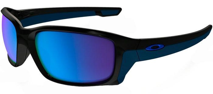 f70116af28 STRAIGHTLINK OO9331 - 9331-04. POLISHED BLACK    SAPPHIRE IRIDIUM.  Sunglasses - Oakley ...