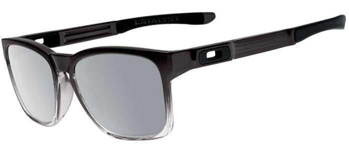 44947e6bac9 Sunglasses Oakley CATALYST OO9272 927218 DARK INK FADE    CHROME IRIDIUM