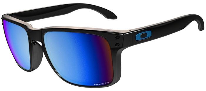3efd5fe7bc Sunglasses - Oakley - HOLBROOK OO9102 - 9102-C1 POLISHED BLACK    PRIZM  DEEP. Polarized