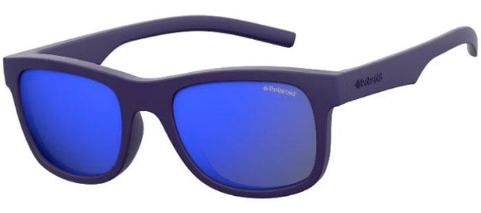 a0f7dd1362 Gafas Junior - Polaroid Junior - PLD 8020/S - CIW (JY) RUBBER BLUE // GREY  BLUE MIRROR POLARIZED