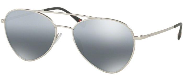40ffabb2290 Sunglasses - Prada Sport - SPS 50SS - 1AP2F2 MATTE SILVER    GREY MIRROR  GRADIENT