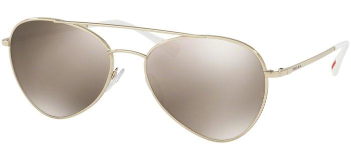 2ffc5ff81a Gafas de Sol Prada Sport SPS 50SS ZVN1C0 PALE GOLD // LIGHT BROWN ...