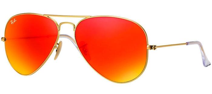 665ba3f9f5 Gafas de Sol RayBan RB3025 AVIATOR LARGE METAL 112/69 MATTE GOLD ...