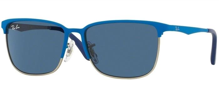 Gafas Junior RayBan® Junior Collection RJ9535S 244 80 TOP MATTE BLUE ... 10129437f310