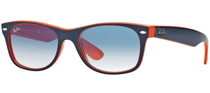 559e80c615 Gafas de Sol RayBan RB2132 NEW WAYFARER 789/3F TOP BLUE ORANGE ...