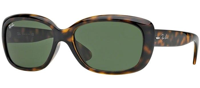 fbc43a10c8 Gafas de Sol RayBan RB4101 JACKIE OHH 710 LIGHT HAVANA // CRYSTAL GREEN