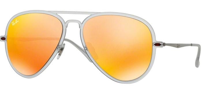 Sol Brown Gafas Ban® De 6466q Matte Orange Ray Rb4211 Transparent Mirror PiOXukZT