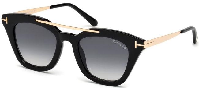 Tom Sol 01b De Grey Anna Ford Black Gradient Gafas 02 Ft0575 Shiny PkiuwTOXZl