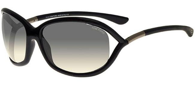 707f2aa27c09 JENNIFER FT0008 - 01B BLACK    GREY GRADIENT. Sunglasses - Tom Ford ...