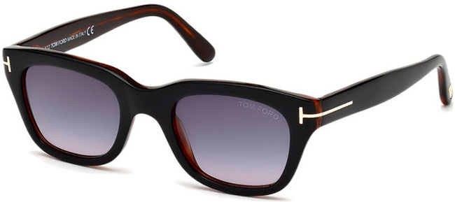80be963d1a Gafas de Sol Tom Ford SNOWDON FT0237 05B BLACK HAVANA // GREY GRADIENT