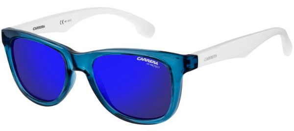 524a2f2bf4 CARRERINO 20 - WWK (XT) BLUE WHITE // BLUE SKY MIRROR. Gafas Junior -  Carrera ...