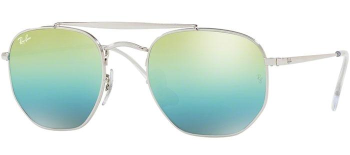 Blue Ban® Grey Gafas Mirror Ray Rb3648 003i2 Green De Silver Marshal Sol Gradient m0n8Nw
