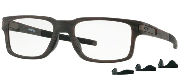 e4cbc35c55 Frames - Oakley Prescription Eyewear - OX8115 LATCH EX - 8115-03 WOODGRAIN