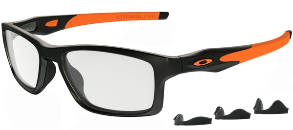 fb9f0c83616 Frames - Oakley Prescription Eyewear - OX8090 CROSSLINK MNP - 8090-01 SATIN  BLACK