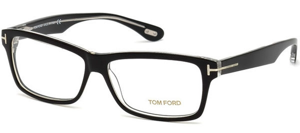 ec1e89e4fc Monturas - Tom Ford - FT 5146 - 003 BLACK TRANSPARENT